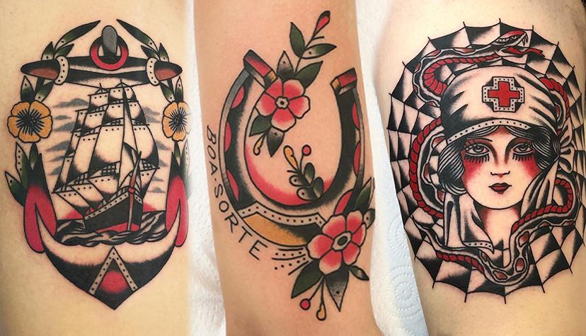 Styl Tatuaż Old School
