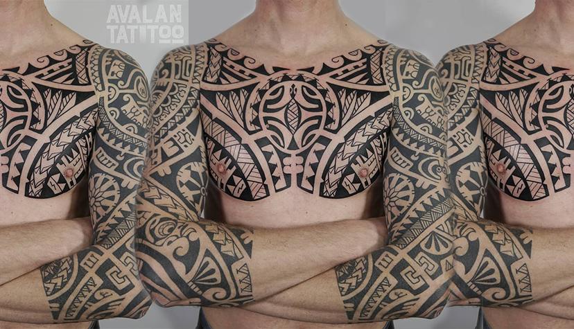 Styl Tatuaż Polinezja Tatuażysta Agnieszka Kulińska