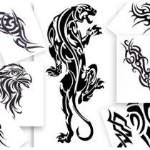 Styl Tatuaż Tribal