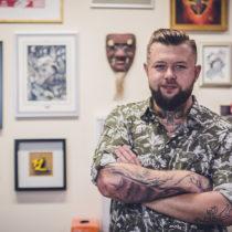Kazmierz Kosa Rychlikowski - Kosatattoo Studio Tatuażu Wodzisław Śląski Speak In Color Tattoo.