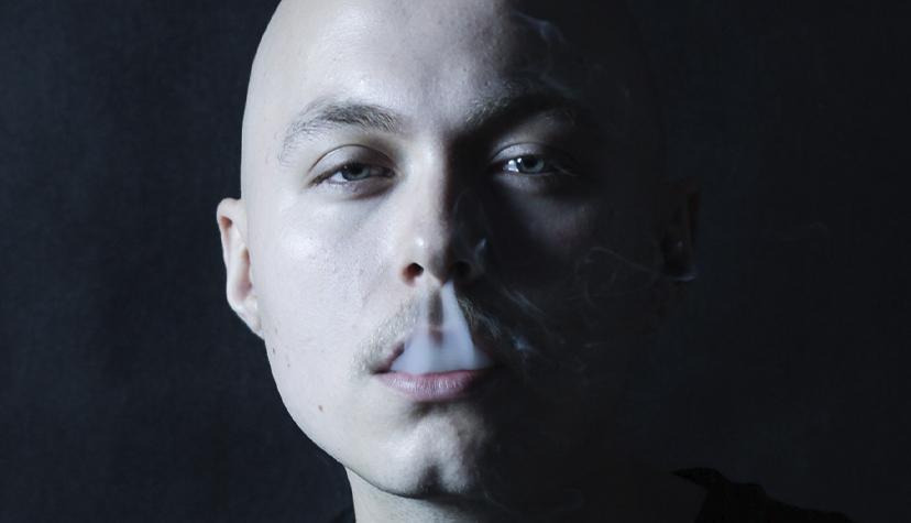 Tatuażysta Marcin Pankiewicz Panku Tattoo zMiasta Rydułtowy zestudio tatuażu Cactus Ink Broda Tattoo.