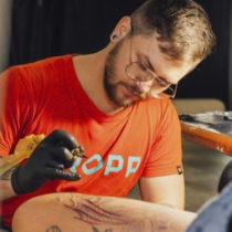 Tatuażysta Eugenii Sokolan Sokól z miasta Łódź ze studio tatuażu East Zone ART