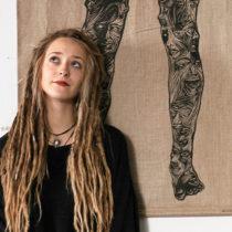 Tatuażysta Jaszczurka Matylda Ja.szczu z miasta Poznań ze studio tatuażu Spokój Tattoo