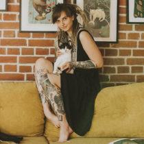 Tatuażysta Joanna Świrska dzo_lama z miasta Wrocław ze studio tatuażu Nasza Tattoo Shop