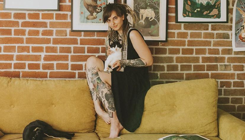 Tatuażysta Joanna Świrska dzo_lama zmiasta Wrocław zestudio tatuażu Nasza Tattoo Shop