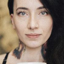 Tatuażysta Joanna Fąferko z miasta Brzeg ze studio tatuażu Black Pearl Tattoo