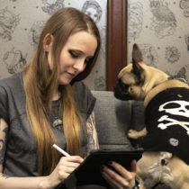 Tatuażysta Nona Karnowska Dybuk Ink z miasta Kraków ze studio tatuażu Kult Tattoo Fest