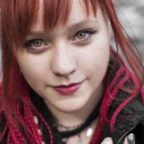 Tatuażysta Wiktoria Wanda Domin z miasta Żory ze studio tatuażu Monache Ink.