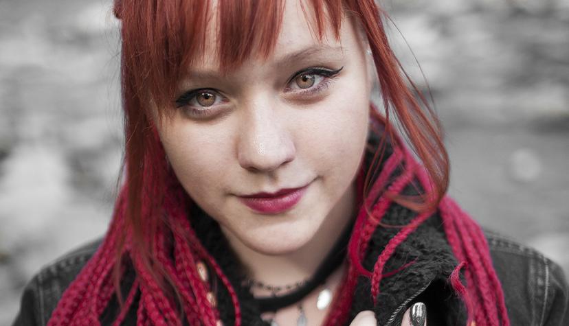 Tatuażysta Wiktoria Wanda Domin zmiasta Żory zestudio tatuażu Monache Ink.