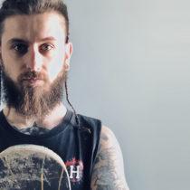 Tatuaż Krzysztof Pietrowicz Ceentaur z miasta Toruń ze studio tatuażu Bodyfikacja Tattoo