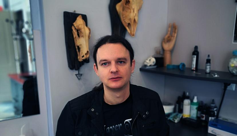 Tatuażysta Daniel Melaniuk z miasta Lublin ze studio tatuażu Slayer Tattoo
