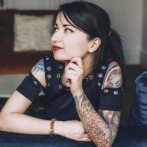 Tatuażysta Daniela Mielewczyk Czarny Kot Tattoo z mista Gdańsk ze studio tatuażu XY studio