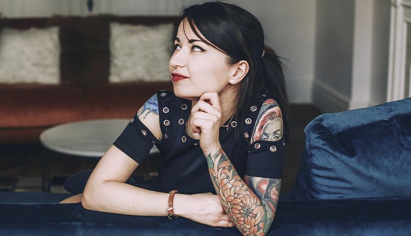 Tatuażysta Daniela Mielewczyk Czarny Kot Tattoo zmista Gdańsk zestudio tatuażu XY studio