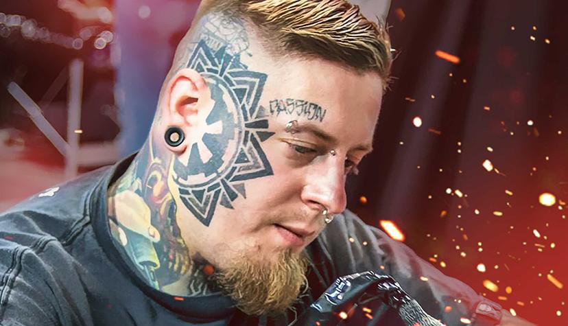 Tatuażysta Jacek Jack Gałan zmiasta Szczecin zestudio tatuażu Jack Galan Art
