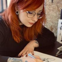 Tatuażysta Magdalena Hipner z miasta Zielona Góra ze studio tatuażu Hipner Tattoo